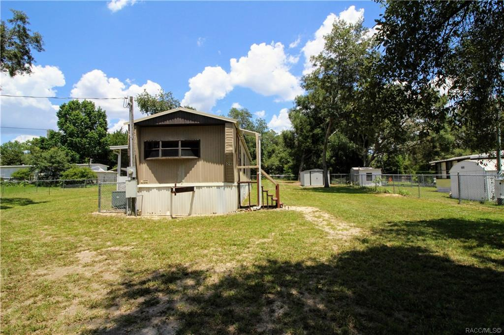 home for sale at 21 N West Avenue, Inverness, Florida 34453 in Hiltop
